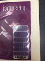 Jamberry Purple Mini Polka