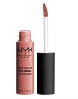 NYX soft matte metallic lip