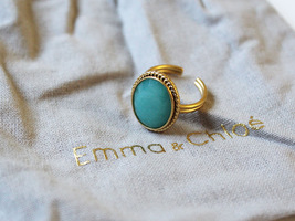 Sestra Echo Ring in Gold