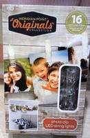 Meridian Point Photo Clip String Lights - In Box