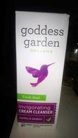 Goddess garden invigorating cream cleanser