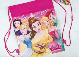 Disney Pley Princess Drawstring bag