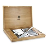 Zwilling J.A. Henckels 8-Piece Stainless Steel Steak Knife Set in Presentation Box