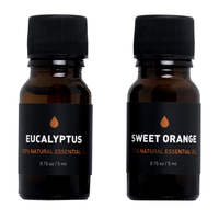 WAY OF WILL Elevate Essential Oil Set: Sweet Orange Oil & Eucalyptus Oil