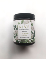 Live Botanical Lavender + Cocoa Body Polish