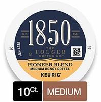 Folger 1850 Pioneer Blend Medium Roast Coffee