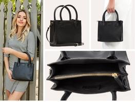 Kiko Genuine Leather Purse - The Simplistic - Black