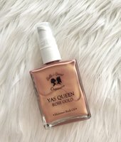 Belle & Beast Organics - Yas Queen Shimmer Body Oil In Rose Gold
