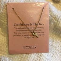 Confidence Is The Key necklace