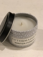 Fifth & Madison Winter Forest Travel Tin Candle