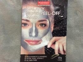 Galaxy Silver peel-off mask