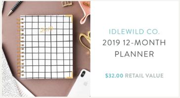 IldeWild Co. 2019 Planner