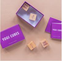 Yoga Sequence Cubes. Yogi Cubes