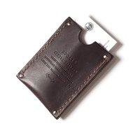 Apolis Brown Leather card holder