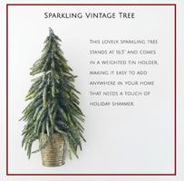 Sparkling Vintage Tree