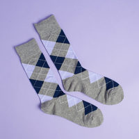 Zocks Argyle Dress Socks