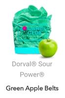 Doral Sour Power Green Apple Belts