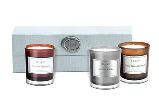 L'HOMME COLLECTION SET OF 3 GIFT CANDLE VOTIVE SET