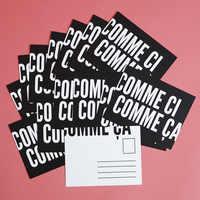 """Cloth & Paper """"Comme Ci Comme Ça"""" Postcards"""