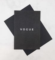 """Cloth & Paper """"VOGUE"""" Greeting Card"""
