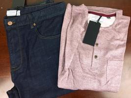 Five Four Club Alveo Henley Long Sleeve Shirt