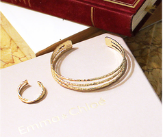 Rhea Bangle & Athena Ring