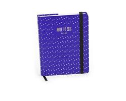 D.L. & Co purple journal