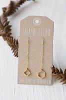 Geometric Mismatch Earrings by Amano Studio