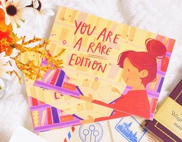 You are a Rare Edition Post Card Set
