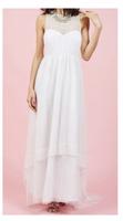 Geode Swiss Dot Wedding Dress (3X)