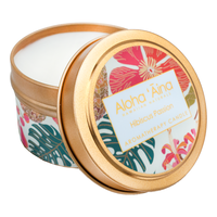 Hawaiian Aromatherapy Candle – Hibiscus Passion by Maui Soap Co