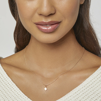 Kris Nations Starburst Charm Necklace (gold)