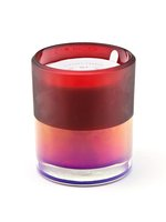 25OZ ION PLATED RED CANDLE - SPARKLING CRANBERRY & CASSIS