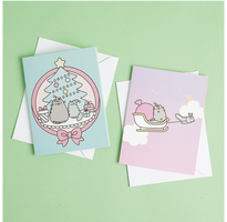 Pusheen holiday cards