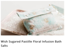 Wish Sugared Pastille Bath Salts Sachet