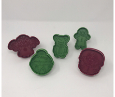 Loot Fright Krampus Christmas Cookie Cutter Set