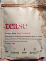 Tease pumpkin spice black tea blend