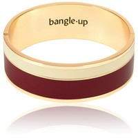 Bangle Up - Vaporetto 2cm Burgundy/Blanc