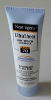 Neutrogena Ultra Sheer Dry Touch Sunblock SPF 70