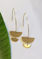 Jules Smith Half Moon Bay earrings