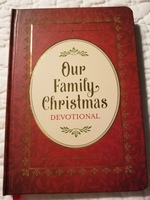 Our Family Christmas Devotional book 153 pages with Ribbon