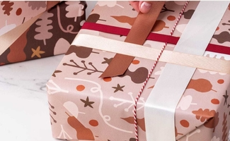 Claire Ritchie Gift Wrap Sheets-set of 3