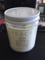 Crystal Peace Candle