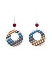 Modular 2.0 Striped Dangle Earrings