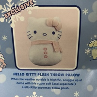 Hello Kitty Plush throw pillow