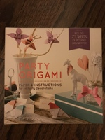 Party Origami by Jessica Okui - book and origami paper with instructions