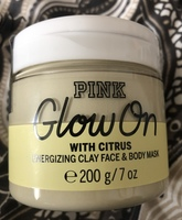 Pink Glow On with Citrus Clay Face and Body Mask