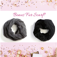 Soft as a Kitten Scarf