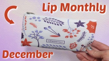 Lip Monthly Makeup Bag December 2018 - Just the bag!
