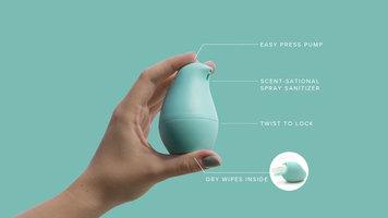 Olika Birdie 2-in-1 hand sanitizer